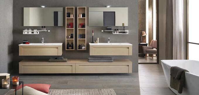 Meubles salle de bains Delpha unique wood