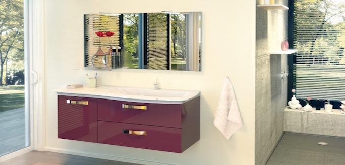 meuble salle de bains burgbad curve