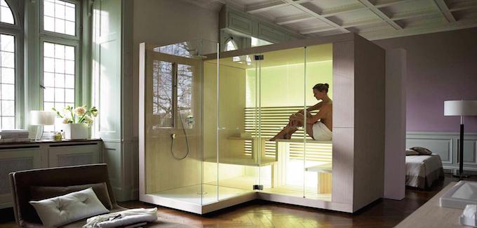 Sauna de la marque duravit inipi ama sauna
