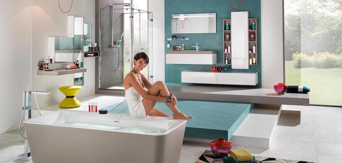 Salle de bain innovante