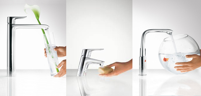 Image robinetterie vasque insolite