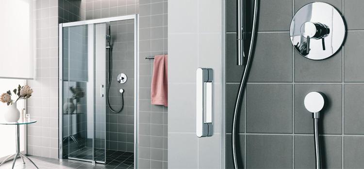 Magnifique paroi de douche de la marque Rothalux