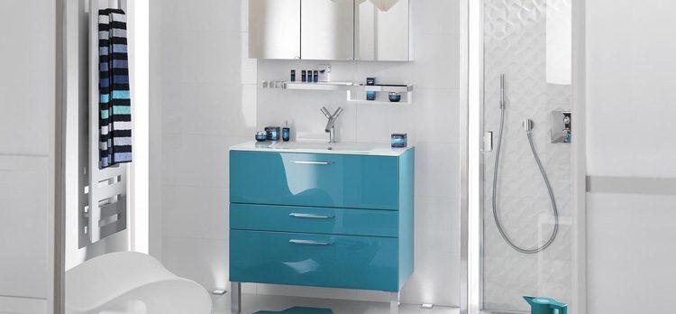 Peps pour salle de bains blanche