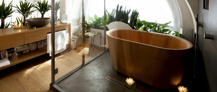 Se créer sa salle de bains japonaise