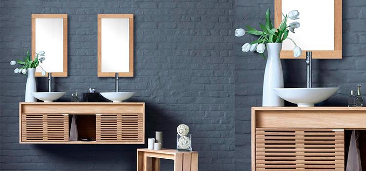 Meuble salle de bain Cube de Line Art