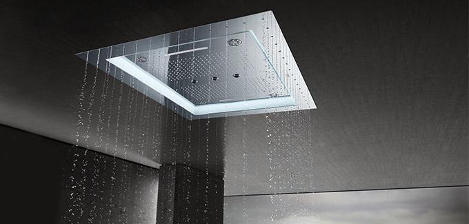 Optez pour la paroi de douche connectée