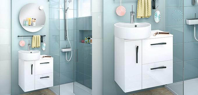 Quelles couleurs pour votre petite salle de bains ?
