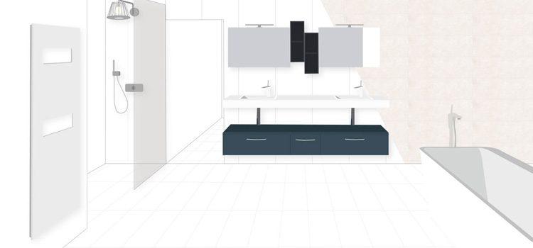 Concevez votre salle de bains 3D