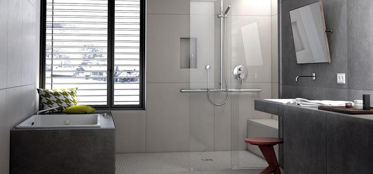 Le carrelage dans votre douche italienne
