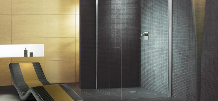 Du carrelage dans votre douche pour l'originalité