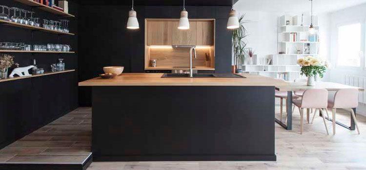 La Cuisine Noire Deco Salle De Bains
