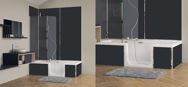 duo de kinedo baignoire gallery of baignoire kinedo duo with duo de kinedo baignoire good. Black Bedroom Furniture Sets. Home Design Ideas