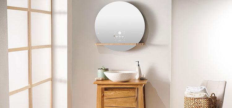 Le miroir connecté Ekko de Miliboo