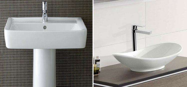 Vasque ou lavabo pour votre salle de bains ?