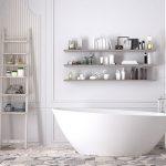 Sélection de meubles pour une salle de bains rétro