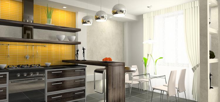 Adoptez Le Jaune Curry Dans Votre Cuisine Déco Salle De Bains
