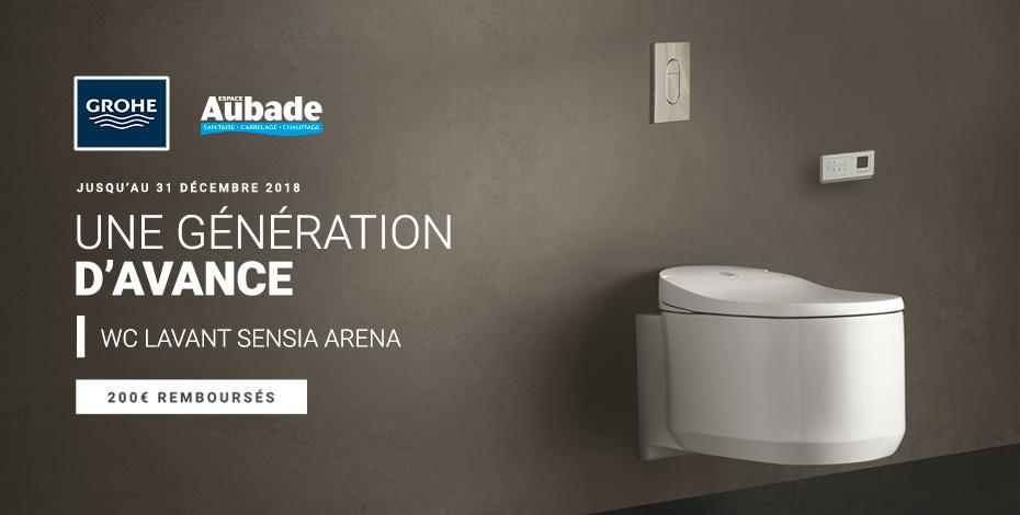 ODR 200€ WC lavant Sensia Arena Grohe
