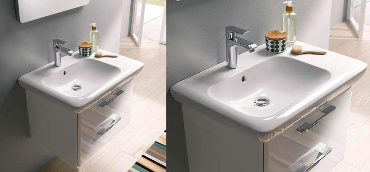 Vasque pour salle de bains en céramique Arum de Allia