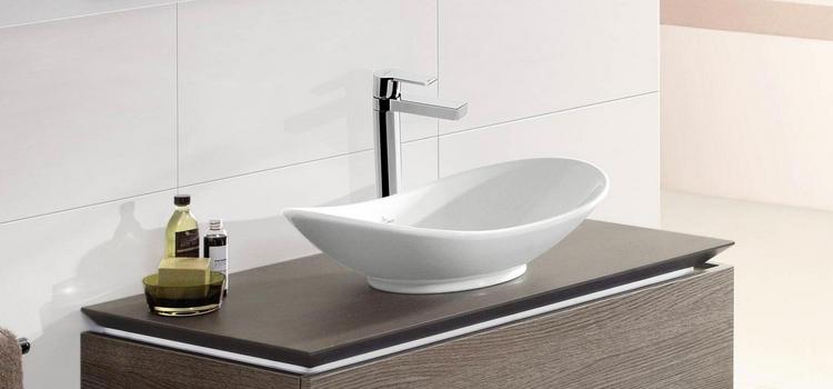 Vasque ovale à poser My Nature de Villeroy & Boch