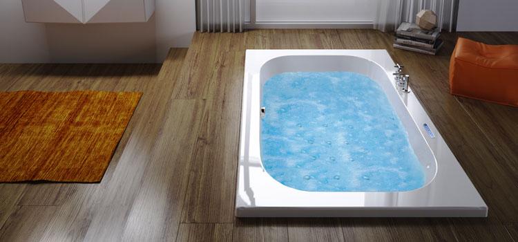 La balnéothérapie chez soi avec une baignoire encastrée !