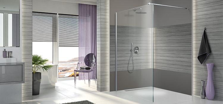 Salle d'eau avec douche à l'italienne design