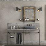 Une salle de bain rétro vintage !