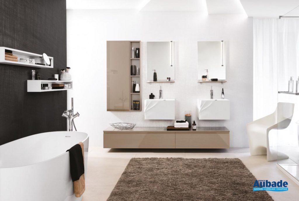 Meuble de salle de bains Unique Diane et Pure de Delpha