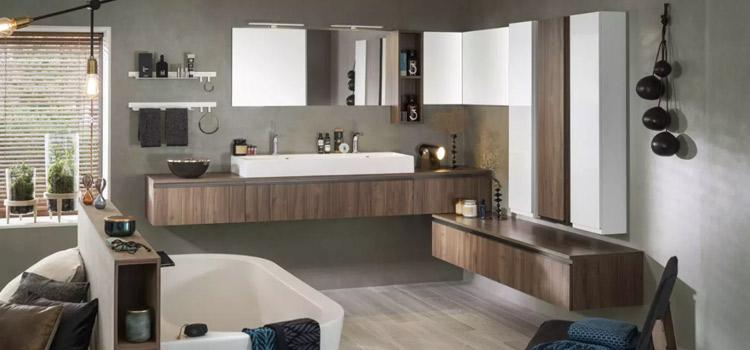 Meubles de salle de bains pratiques pour le rangement