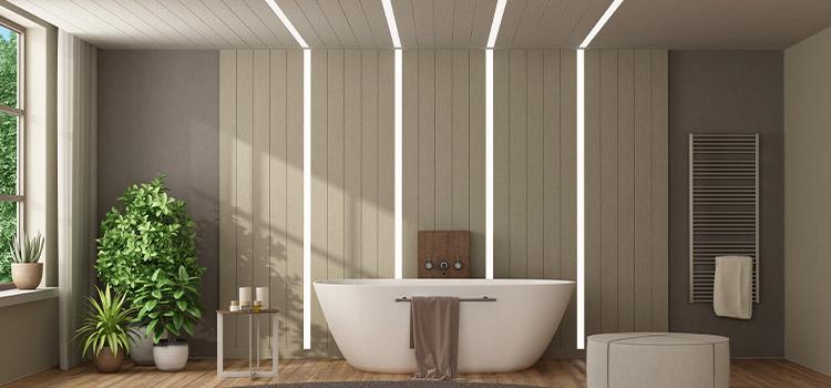 lambris salle de bains