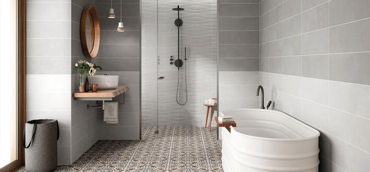 illustration des différents équipements de salle de bains