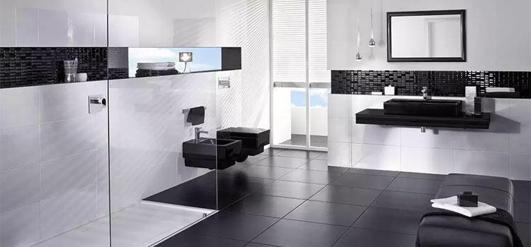 collection de salle de bains noir et blanc Memento