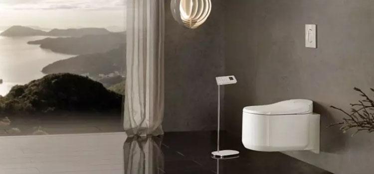 WC suspendu minimaliste