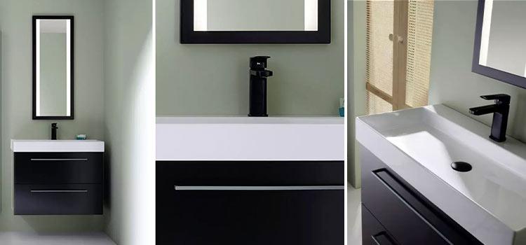 meuble de salle de bains suspendu