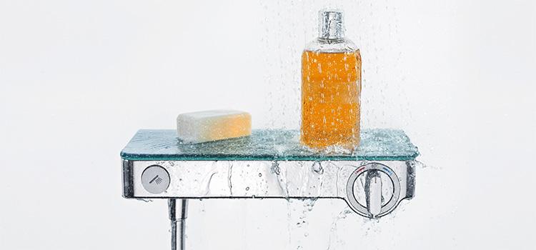 porte savon de salle de bains