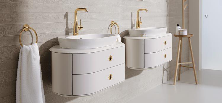 double meuble lavabos et vasques