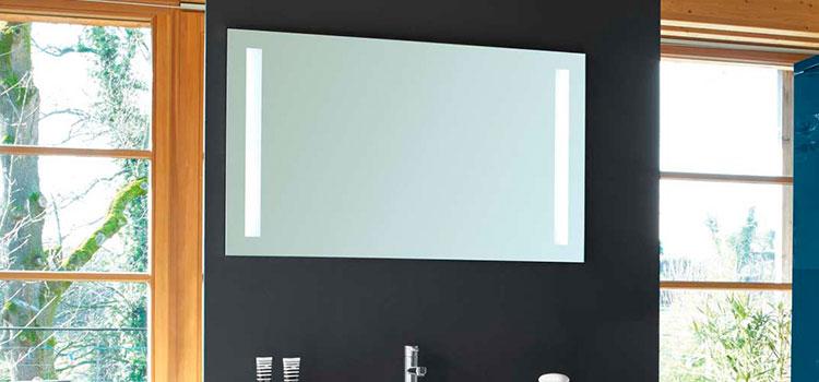 miroir de salle de bains rectangulaire