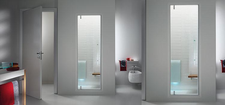 salle de bains avec spa et hammam