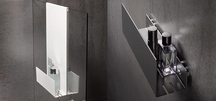 accessoire salle de bains pour les éléments de beauté
