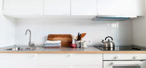 Une cuisine petite mais fonctionnelle