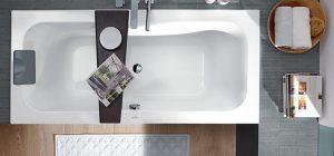 Agencez votre baignoire dans votre petite salle de bains