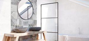 La crédence dans la salle de bains